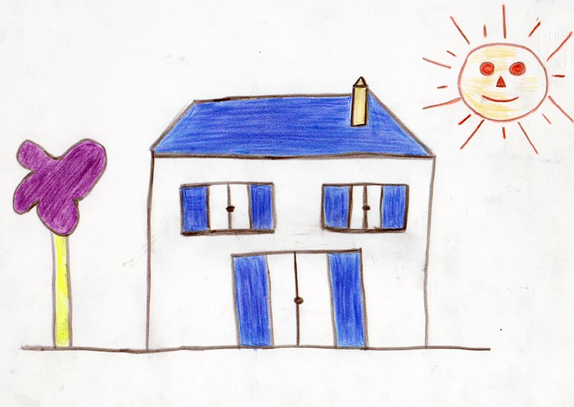 La psicologia del disegno for Disegnare la pianta del piano di casa